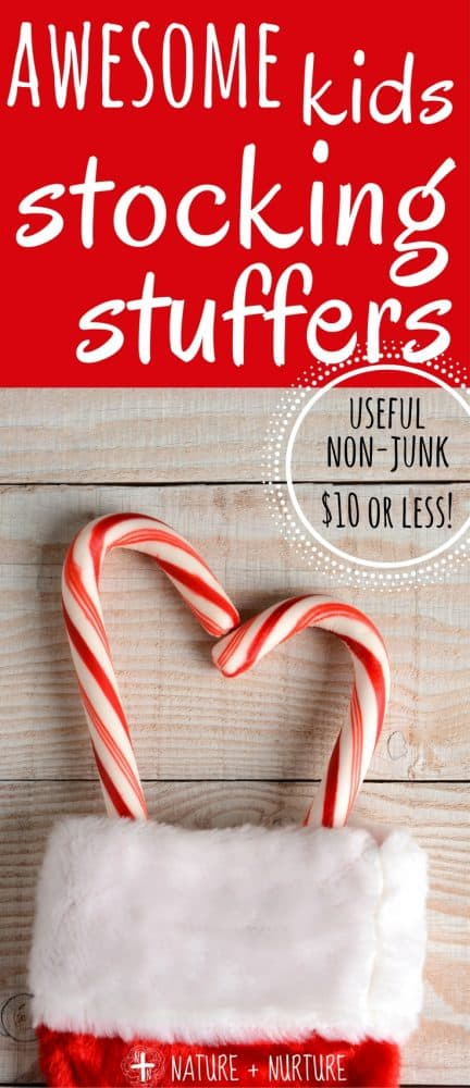 Stocking stuffer ideas for kids can sometimes be difficult to come by - especially finding things that they will actually use! You'll love these ideas, and they all cost less than $10.
