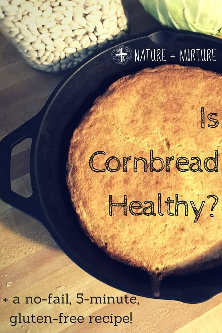 The best cornbread recipe ever, passed down four generations. This gluten free cornbread is quick, tasty, crispy, and healthy.