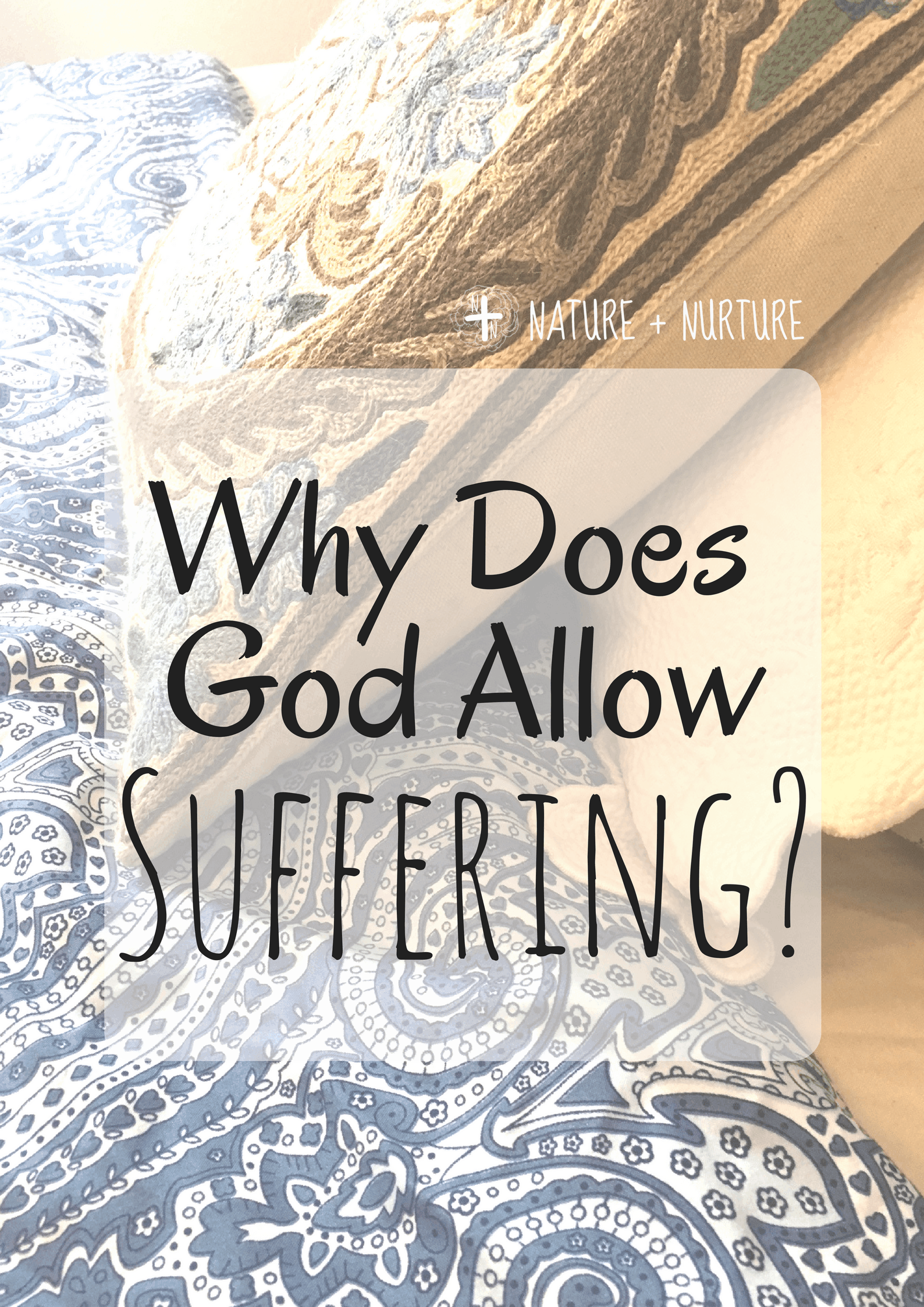"Why do bad things happen, especially to good people? When suffering strikes, it's natural to ask ""why?"" Here are a few points to consider."