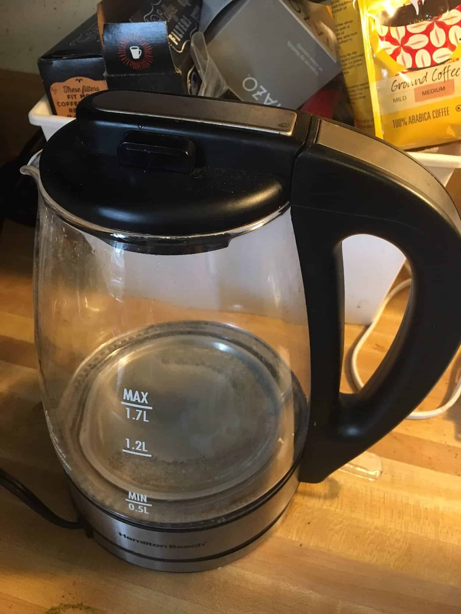 Electric Tea Kettle - kitchen tools for a healthier lifestyle