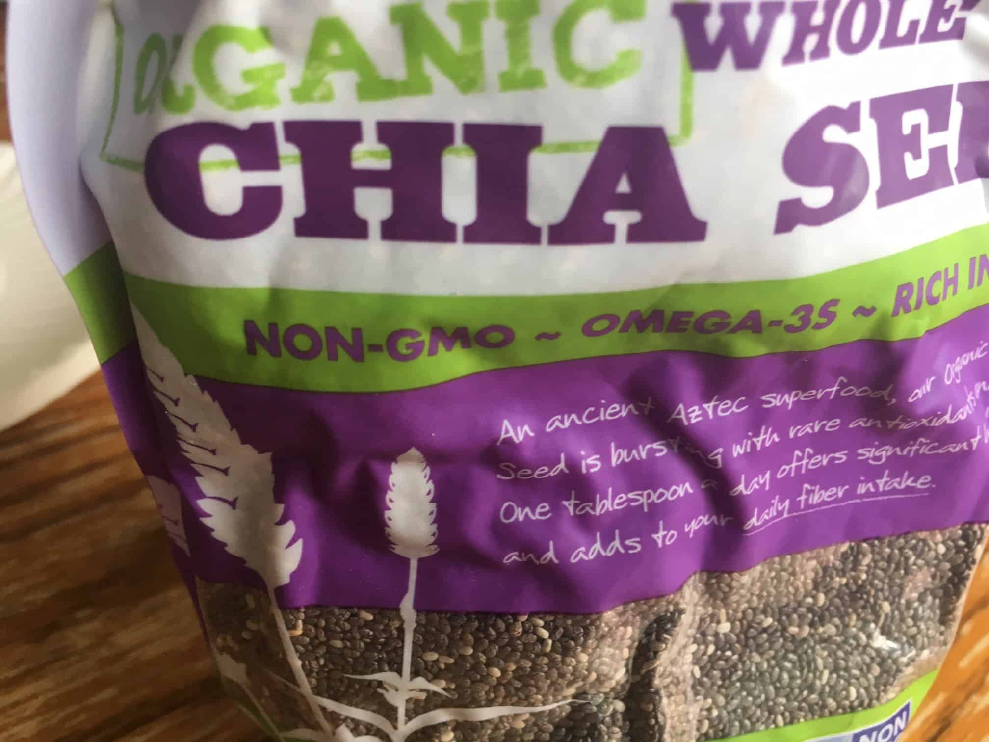 Add chia seeds to food - eating healthy tips