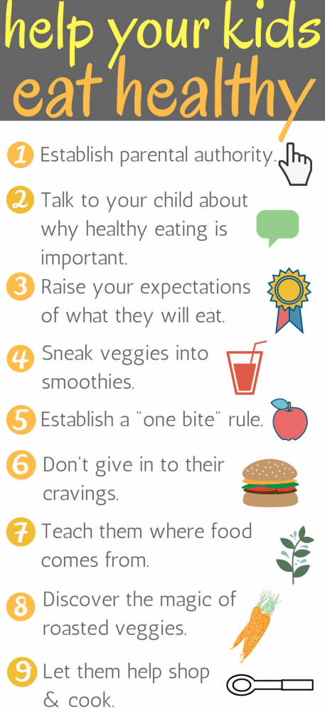 Find out why healthy eating is so important to teach at an early age, and nine great solutions for how to get kids to eat vegetables and healthy foods.