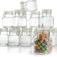 Mini storage jars