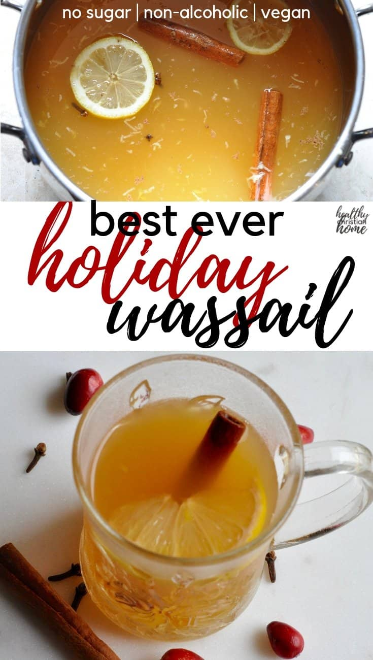 holiday spiced wassail recipe