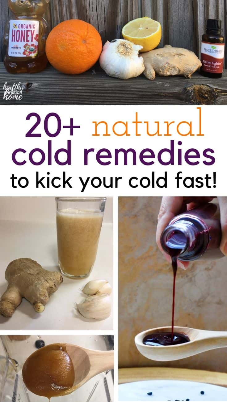 Discover over 20 of the best natural cold remedies for cold and flu season to help you stay healthy through the colder months. #coldremedies #coldremedy #naturalremedies #coldandflu