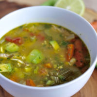 Chuy's Chicken Tortilla Soup {copycat recipe}
