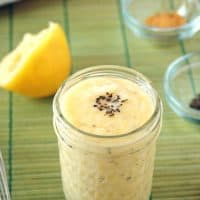 Homemade Basil-Garlic Mayonnaise