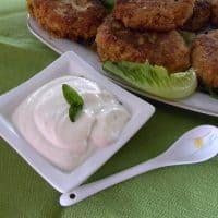 Homemade Garlic Sauce with Basil