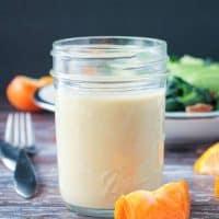 Citrus Tahini Dressing (Oil Free, Dairy Free)