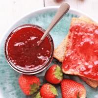 3 Ingredient Instant Pot Strawberry Jam