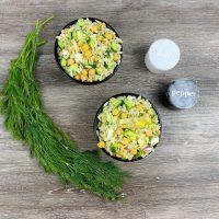 Easy Greek Orzo Salad Recipe