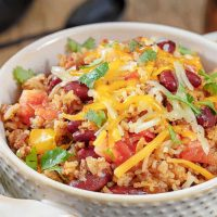 Instant Pot Mexican Ground Beef Casserole