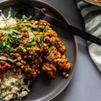Indian Lentil Curry (Dal)