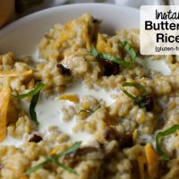 Instant Pot Butternut Squash Rice Porridge {gluten-free, dairy-free option!}