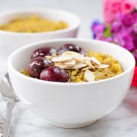 Golden Milk Quinoa Porridge Bowl