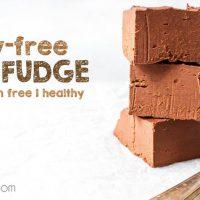 Healthy Bean Fudge - vegan & sugar-free
