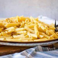 Caramelized Onion Pasta with Gorgonzola