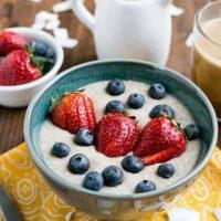 Coconut Low Carb Porridge (Keto, Instant Pot)