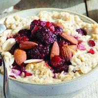 Instant Pot Steel-Cut Oats With Cranberries & Almonds