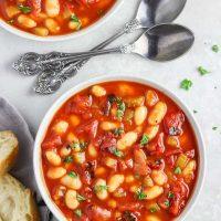 Smoky Tomato and White Bean Soup