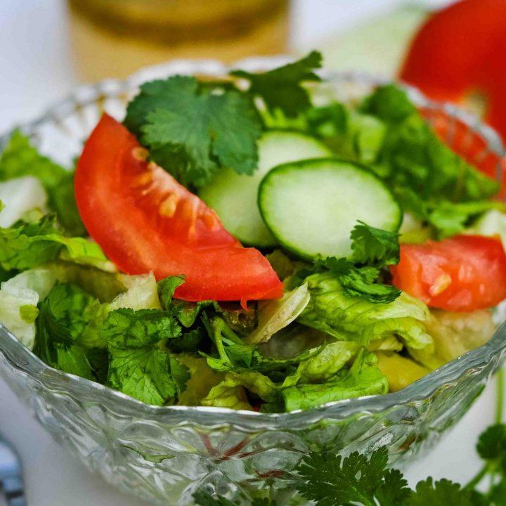 Zesty Cilantro Salad