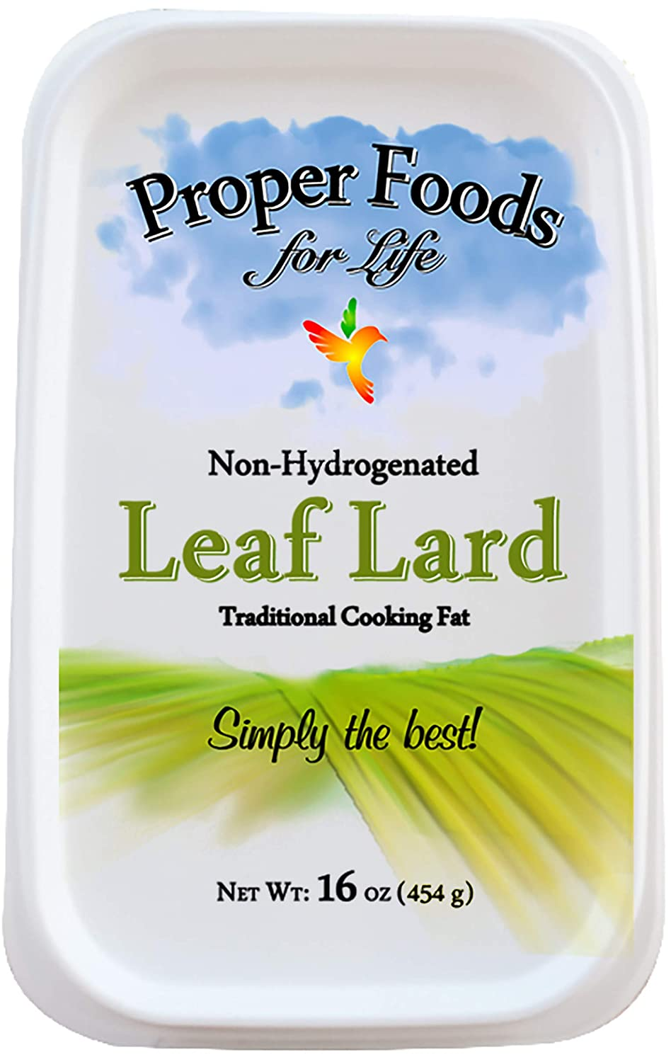Pure lard (for frying)