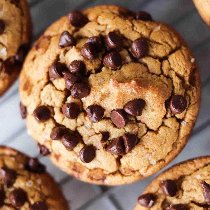 Sweet Potato Chocolate Chip Muffins (gluten-free)