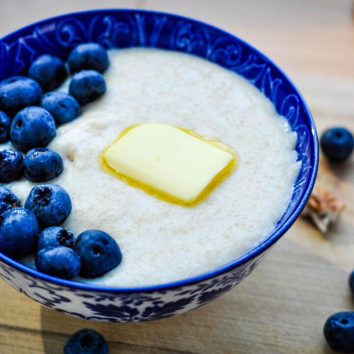 Homemade Cream of Wheat (with freshly ground wheat)