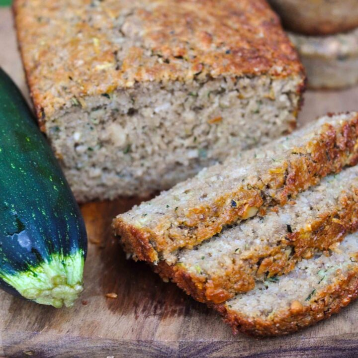 Healthy Citrus Zucchini Bread